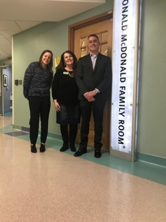 Eisenberg, Cutt, Kendell & Olson Sponsor Ronald McDonald Family Room at Primary Children's Hospital